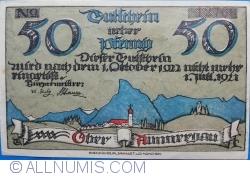 50 Pfennig 1922 - Oberammergau