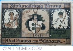 Image #1 of 75 Pfennig 1921 - Bad Sachsa