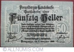 Imaginea #1 a 50 Heller 1919 - Bregenz