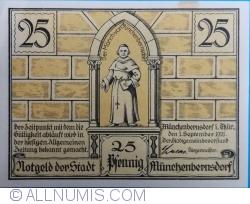 Image #1 of 25 Pfennig 1921 - Münchenbernsdorf