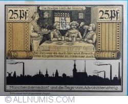 Image #2 of 25 Pfennig 1921 - Münchenbernsdorf