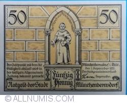 Image #1 of 50 Pfennig 1921 - Münchenbernsdorf
