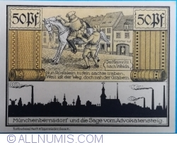 Image #2 of 50 Pfennig 1921 - Münchenbernsdorf
