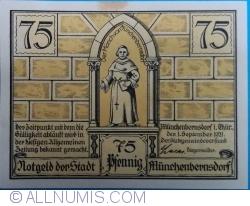 Image #1 of 75 Pfennig 1921 - Münchenbernsdorf