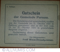 Imaginea #2 a 50 Heller ND - Pernau (A II-a emisune - 2. Auflage)