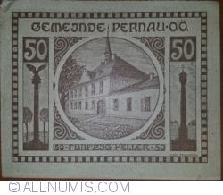 Imaginea #1 a 50 Heller ND - Pernau (Prima emisune - 1. Auflage)