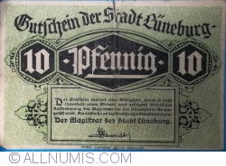 Image #1 of 10 Pfennig ND - Lüneburg