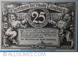 Image #1 of 25 Pfennig ND - Lüneburg