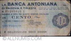 Imaginea #1 a 100 Lire 1976 (15. XI.)