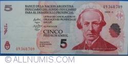 Image #1 of 5 Pesos 2006 (30. IX.) - Serie A