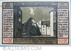 Image #2 of 50 Pfennig 1921 - Pößneck