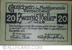 Image #1 of 20 Heller 1920 - Persenbeug