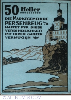 Image #1 of 50 Heller 1920 - Persenbeug