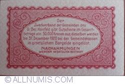 Imaginea #2 a 10 Heller 1920 - Hainfeld