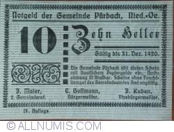Image #1 of 10 Heller 1920 - Purbach (3. Auflage)