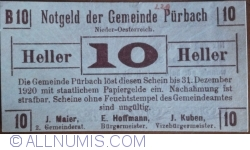 Image #1 of 10 Heller 1920 - Purbach