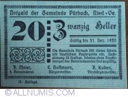 Image #1 of 20 Heller 1920 - Purbach (3. Auflage)