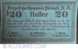 Image #1 of 20 Heller 1920 - Purbach