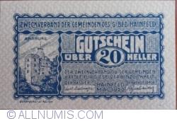 Imaginea #1 a 20 Heller 1920 - Hainfeld