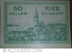Image #1 of 50 Heller 1920 - Ried bei Mauth.