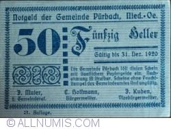 Image #1 of 50 Heller 1920 - Purbach (3. Auflage)