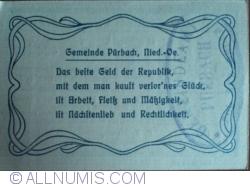 Image #2 of 50 Heller 1920 - Purbach (3. Auflage)