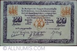 Imaginea #1 a 20 Heller 1920 - Haag am Hausruck