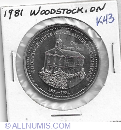 1 Dairy Country Dollar 1981 - Woodstock, Springbank Snow Countess