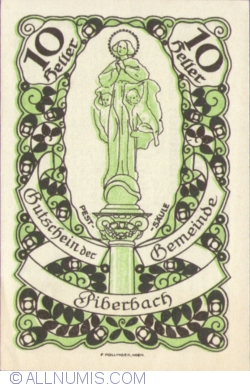 Image #1 of 10 Heller 1920 - Piberbach