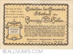 Image #2 of 20 Heller 1920 - Piberbach