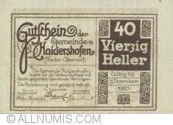 Image #1 of 40 Heller ND - Haidershofen