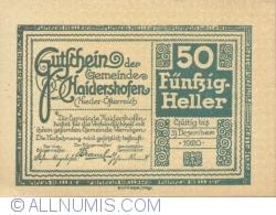 Image #1 of 50 Heller ND - Haidershofen