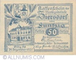 Imaginea #1 a 50 Heller ND - Ziersdorf