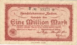 1 000 000 Mark 1923 - Aachen