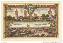 Imaginea #1 a 70 Pfennig 1922 - Jüterbog