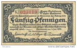 Image #2 of 50 Pfennig 1921 - Hanover