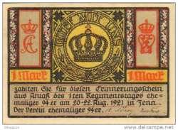 Image #1 of 1 Mark 1921 - Jena