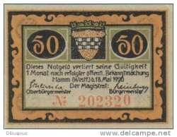 Image #1 of 50 Pfennig 1920 - Hamm