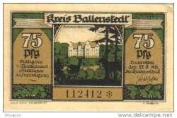 Image #1 of 75 Pfennig 1921 - Ballenstedt