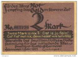 Image #1 of 2 Mark 1922 - Hanover