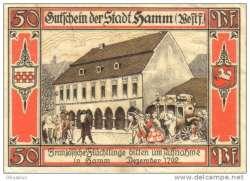 Image #2 of 50 Pfennig 1921 - Hamm