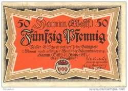 Image #1 of 50 Pfennig 1921 - Hamm