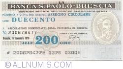 200 Lire 1976 (15. XI.) - Brescia