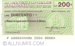 200 Lire 1977 (14. I.) - Milano